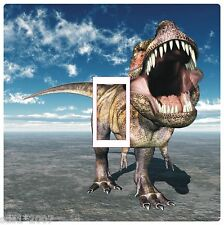 DINOSAUR LIGHT SWITCH COVER STICKER DECAL DIGITAL HD PRINTED colourful