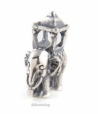 Authentic Trollbeads Silver Indian Elephant 11505 (Incl. Orig. Packaging)