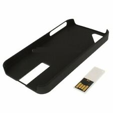 New 2 in 1 iPhone 4 Black Back Case With Bult-in White 8GB USB Slim Flash Drive