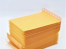 50 x Kraft Bubble Envelopes Padded Mailers Shipping Self-Seal Bags 130x210mm