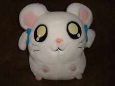 "HAMTARO HAM-HAM Hamster White BIJOU Anime Plush 9"" tall"