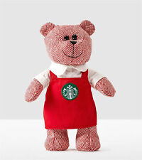 Starbucks Holiday 2016 Winter Bearista Bear Red Apron Limited Edition Xmas Gift