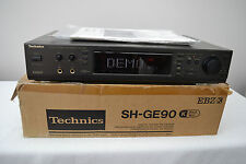 Technics SH-GE90 Spectrum Graphic Equaliser/DSP + Power Lead + Manual