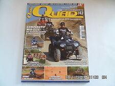 QUAD PASSION MAGAZINE N°143 05/2012 YAMAHA GRIZZLY 550 YAMAHA 700 RAPTOR    I27