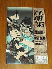 LONE WOLF AND CUB BOOK 11 FIRST PUBLISHING KAZUO KOIKE MILLER   0915419203
