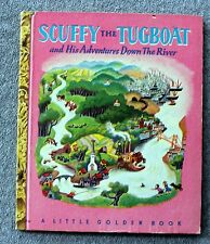 1946 SCUFFY THE TUGBOAT Gertrude Crampton TIBOR GERGELY Little Golden Book KIDS
