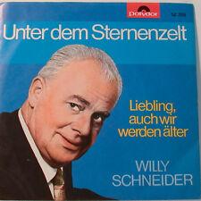 """WILLY SCHEIDER - UNTER DEM STERNENZELT - POLYDOR    (F201] 7""""SINGLES"""