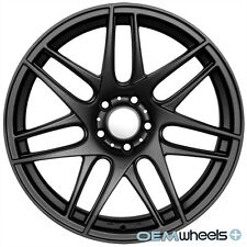 "19"" BLACK CX R STYLE WHEELS FITS AUDI A4 S4 RS4 B5 B6 B7 B8 QUATTRO TDI RIMS"