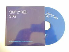 SIMPLY RED : STAY [ CD SINGLE ] ~ PORT GRATUIT !