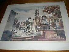 """J.R. HAMIL """" Swansons & The PLaza Theater (Cheese Cake Factory) Signed   316/950"""