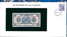 Banknotes of all Nations Haiti 2 Gourde 1979 P 231 UNC Prefix F
