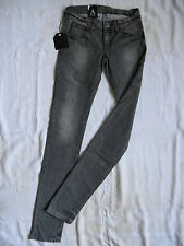 DR.DENIM Damen Jeans Stretch Denim Röhre W25/L34 extra low waist slim fit tube