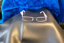 Women's Pink Haggar Eyeglass Frames With Clear Glass