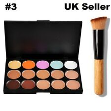 15 Colors Concealer Contour Palette #3 kit Face Makeup Cream Make up Technic Mac