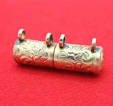 "Handmade Tibetan Buddhist ""Trungwa"" Ruel Gau Amulet Housing Cover Casing Case"