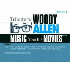 Tribute to Woody Allen: Music from His Movies [Box] by Various Artists (CD,...