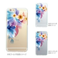 MADE IN JAPAN Soft Clear TPU Case Retro flowers for iPhone 6 & iPhone 6s