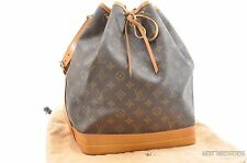 Authentic Louis Vuitton Monogram Noe Shoulder Bag M42224 LV 27567