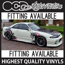 UNIVERSAL DRIFT / STREET STYLE GRAPHICS DECALS KIT 200SX S13 S14 SUPRA SKYLINE