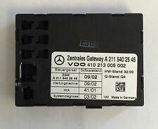 OEM Mercedes-Benz C320 CL65 E350 S500 Gateway System Diagnostics 2115402545 NEW