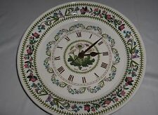 Portmeirion Botanic Garden Round Kitchen Wall Clock Daisy Quartz VG