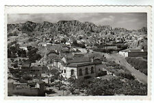 View Of The Caves - Guadix Real Photo Postcard c1950's