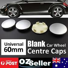 60mm Universal Car Wheel Centre Hub Caps Blank Plain Hubcaps Covers Replacement