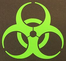 LIME GREEN ZOMBIE DECAL STICKER 15 COLORS CAR SUV FORD CHEVY DODGE HONDA VW JDM