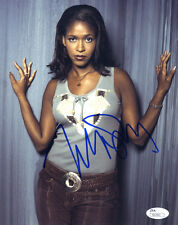 MERRIN DUNGEY Signed 8X10 Color Photo with a JSA (James Spence) COA