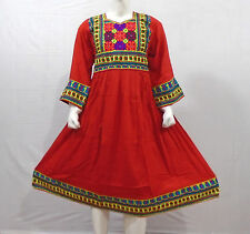 Kuchi Afghan Banjara Tribal Boho Hippie Style Brand New Ethnic Dress ND-030