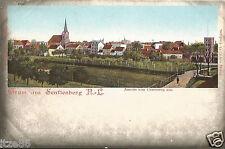 Gruß aus Senftenberg, Niederlausitz, Ansicht vom Gartenweg aus, alte Ak um 1900