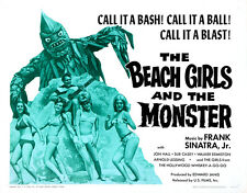 """The Beach Girls and the Monster Movie Poster Replica 14 x 11"""" Photo Print"""