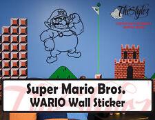 Super Mario Bros. Wario Wall Custom Vinyl Sticker