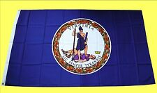 USA Flagge Fahne Virginia: 90x150cm, US State Flag, Country Sturmflagge Saloon