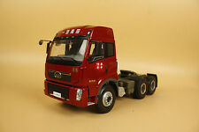 1/24 China Truck FAW XINDAWEI Tractor model red color