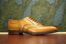 Loake Buckingham Tan Brogue Shoe 8F - New Slight Seconds RRP £215 (11884)