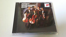 "BERNARD GREENHOUSE JULLIARD STRING QUARTET ""SCHUBERT QUINTET D 956"" CD 4 TRACKS"