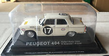 "DIE CAST "" PEUGEOT 404 SAFARI RALLY - 1968 "" RALLY DEA SCALA 1/43"