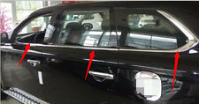 Stainless Bottom Window frame sill trim 6pcs For Mitsubishi Outlander 2013 2014