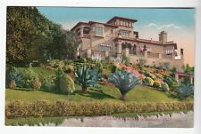 [52113] OLD POSTCARD A HILLSIDE RESIDENCE IN BERKELEY, CALIFORNIA