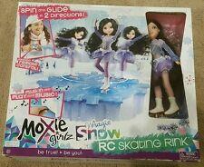 NIB Moxie Girlz Magic Snow RC Skating Rink