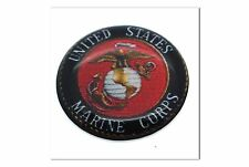 "1 Premium ""Marines"" Automotive Grade Glossy Domed Decal Sticker Emblem 7/8 inch"