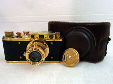 LEICA-II(D) LUFTWAFFE WWII VINTAGE RUSSIAN RF film 35mm GOLD CAMERA EXCELLENT