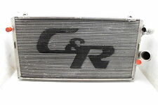 NASCAR C&R C & R ALUMINUM RADIATOR W/ ENGINE OIL COOLER RACING HOT ROD MUD #27