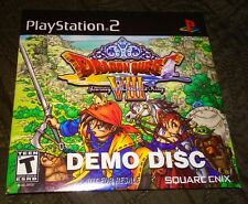 NEW! Dragon Quest VIII: Journey of the Cursed King (Demo Edition) (Sony PS2)