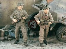 Verlinden 1/35 British Infantry with Rifles WWII (2 Figures) [Resin kit] 2297