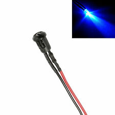 Flashing Blue Small 3mm LED Car, Boat, Caravan, Motorhome Dummy Fake Alarm