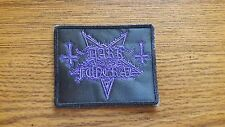 DARK FUNERAL,SEW ON PURPLE EMBROIDERED PATCH