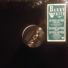 BARRY WHITE • Super Lover • Vinile 12 Mix • 1989 A&M