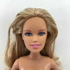 Unique Barbie Sister Skipper Wavy Blonde Hair Doll Blue Eyes Bend Knees
